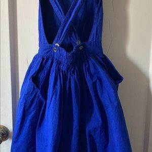 Ketiketa Paris Blue Cross-Strap Zoe Dress Size 10
